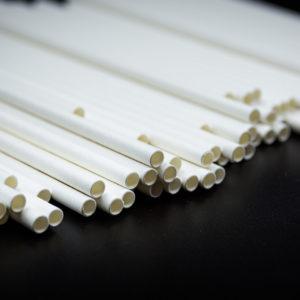 Cannucce di carta biodegradabili