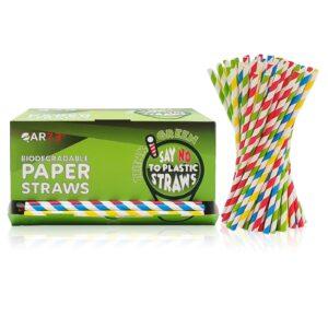 400 cannucce di carta colorate Amazon 20 cm